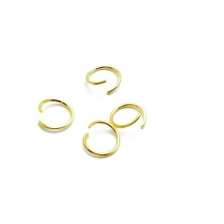 Ring open goud 4 mm (10 gram)