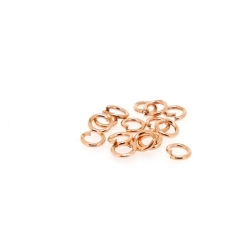 Ring open roségoud 10 mm (10 gram)