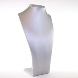 Buste, PU leer, zilver, 27 x 15 cm (1 st.)