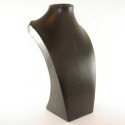 Buste, PU leer, zwart, 30 x 18 cm (1 st.)