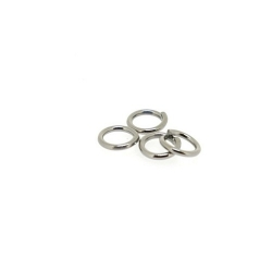 Ring open antique zilver 4 mm (10 gram)