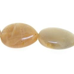 Sunstone kraal rond plat 16 mm (5 st.)