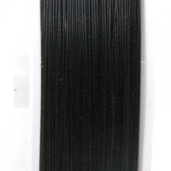 Staaldraad zwart 0.6mm (70 meter)