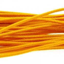 Koord elastiek 1mm geel (10 meter)