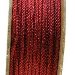 Shamballa draad, roestbruin, 2 mm (ca. 12 mtr.)