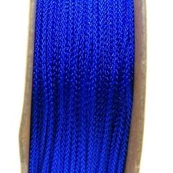 Shamballa draad, koningsblauw, 1 mm (ca. 12 mtr.)