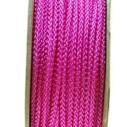 Shamballa draad, roze, 2 mm (ca. 12 mtr.)