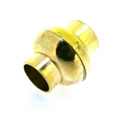Magneetslot, goud, 14 mm (2 st.)