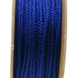 Shamballa draad, donkerblauw, 2 mm (ca. 12 mtr.)