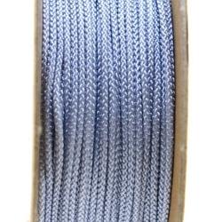 Shamballa draad, grijs, 1 mm (ca. 12 mtr.)