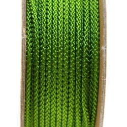Shamballa draad, groen, 2 mm (ca. 12 mtr.)