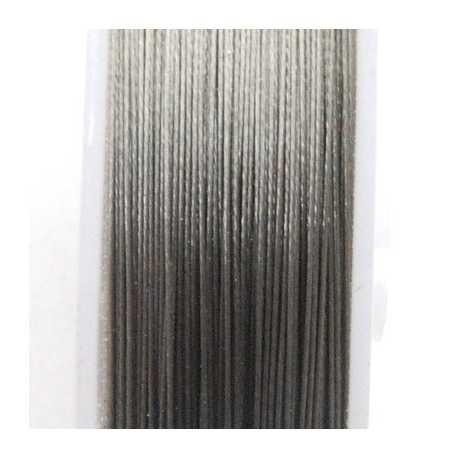 Staaldraad grijs 0.38mm (100 meter)