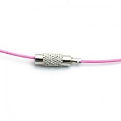 Spang roze 41cm (1 st.)