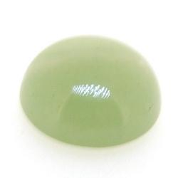 Cabochon, halfedelsteen, Green Aventurine, rond, 14 mm (5 st.)