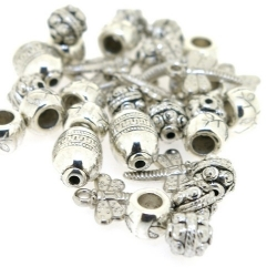 Metallook, mix, zilver (85 gram)