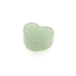 Green Aventurine kraal hart 8 mm (5 st.)