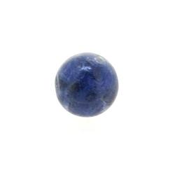 Sodaliet kraal rond 10 mm (10 st.)