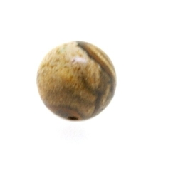 Picture Jaspis kraal rond 10 mm (5 st.)