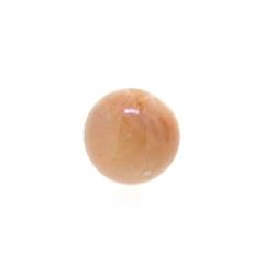 Sunstone kraal rond 8 mm (10 st.)