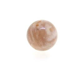 Sunstone kraal rond 10 mm (5 st.)