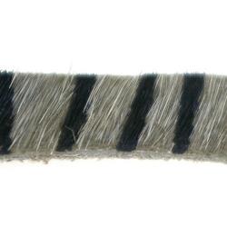 Bontje, beige/zwart, 10 mm (60 cm)