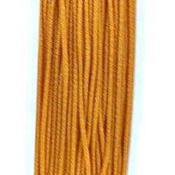 Koord elastiek, okergeel, 0.5 mm (10 meter)