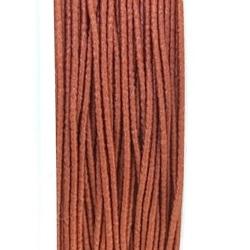 Koord elastiek, lichtbruin, 0.5 mm (10 meter)