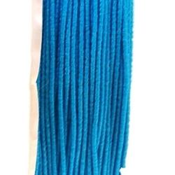 Koord elastiek, turquoise, 0.5 mm (10 meter)