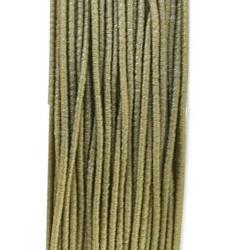 Koord elastiek, grijs, 0.5 mm (10 meter)