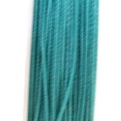 Koord elastiek, zeegroen, 0.5 mm (10 meter)