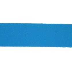 PU leer, plat, 10 mm, blauw (1 meter)