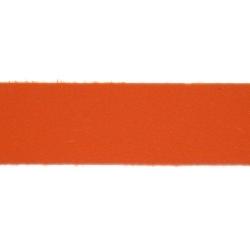 PU leer, plat, 10 mm, oranje (1 meter)