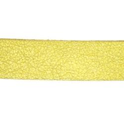 PU leer, plat, 10 mm, goud (1 meter)
