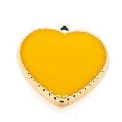 Resin, hanger, hart, geel, 24 mm (3 st.)