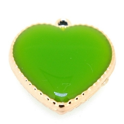 Resin, hanger, hart, lichtgroen, 24 mm (3 st.)