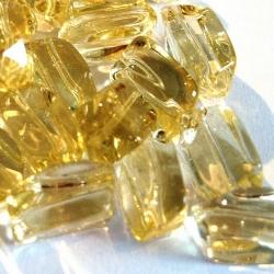 Glaskraal, langwerpig, geel (streng)