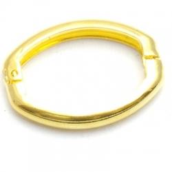 Clip voor ketting, goudkleurig, 27x20 mm (3 st.)