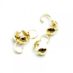 Kalotje, goudkleurig, 4 mm (20 st.)