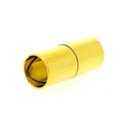 Magneetslot, goud, 16 mm, binnenmaat 6 mm (2 st.)