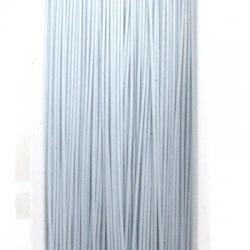 Staaldraad wit 0.6mm (100 meter)