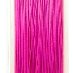 Staaldraad roze 0.6mm (100 meter)