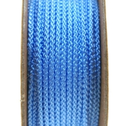 Shamballa draad, lichtblauw, 2 mm (ca. 12 mtr.)