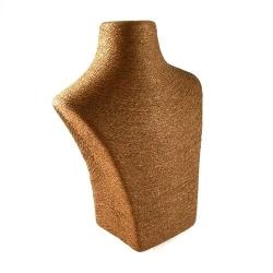 Buste, touw, bruin, 30 x 25 cm (1 st.)