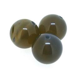 Agaat, kraal, rond, 12 mm (5 st.)