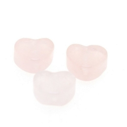 Pink Aventurin kraal hart 10 mm (5 st.)