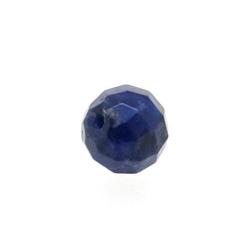 Sodaliet kraal rond facet 8 mm (10 st.)