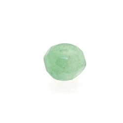 Green Aventurine kraal donut facet 6 x 8 mm (10 st.)