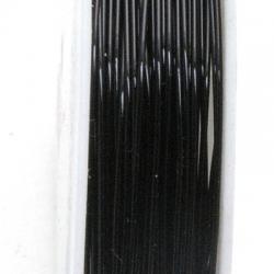 Wire Wire zwart 0.4mm (10 mtr.)