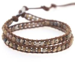 Chan Luu Style Armband, Jaspis (1 st.)