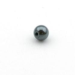 Hematiet kraal rond 12 mm (5 st.)